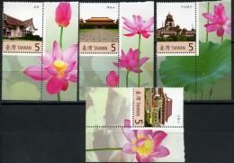 Taiwan, 2007, Buddhist Architecture, MNH