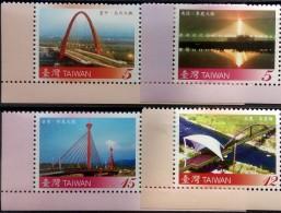 Taiwan, 2008, Bridges, MNH