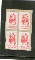 Yugoslavia RED CROSS For OLD PEOPLE Labels BLOCK - Yugoslavia
