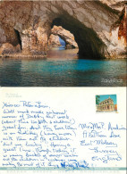 Cave, Zakynthos, Greece Postcard Posted 1995 Stamp - Greece