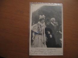 CARTOLINA  RICORDO DELL ULTIMO AUTUNNO DI RE UMBERTO A MONZA OTTOBRE 1896 - Case Reali