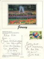 Howard Davis Park, Jersey Postcard Posted 1991 Stamp - Jersey