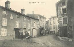 """/ CPA FRANCE 01 """"Jujurieux, Place D'armes"""" - Other Municipalities"""