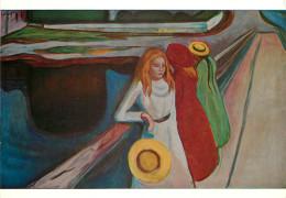 Edvard Munch, Art Painting Postcard Unposted - Malerei & Gemälde