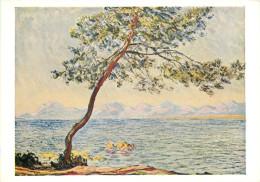 Claude Monet, Cap D'Antibes, Art Painting Postcard Unposted - Malerei & Gemälde