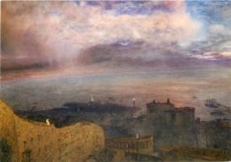 Alfred William Hunt, Bay Of Naples, Art Painting Postcard Unposted - Pittura & Quadri