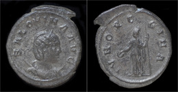 Salonina AR Antoninianus Juno Standing Left - 5. L'Anarchie Militaire (235 à 284)