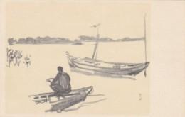 South Vietnam Ben Song Sur Le Mekong On The Mekong River - Vietnam