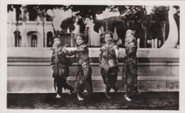 Cambodia Indo-Chine Angkor Danseuses Cambodgiennes Local Dancers Real Photo - Cambodia