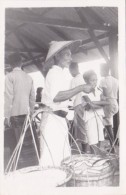 Indonesia Nias Local Fish Sellers Real Photo - Indonesia
