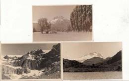 Argentine  - Lago Mascadi  -  4 Cartes Photos Hôtel Tronador   : Achat Immédiat