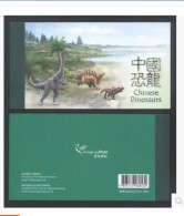 Hong Kong China Prestige Stamp Booklet: 2014 Chinese Dinosaurs - 1997-... Région Administrative Chinoise