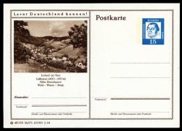 95612) BRD - Bildpostkarte P 81 - 36/272 - * Ungebraucht - 15Pf Luther - Lerbach Im Harz, Ortsansicht - [7] République Fédérale