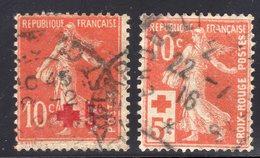 N° 146/147  Avec Oblitération Cachet à Date D'Epoque  TB - France