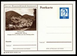 95623) BRD - Bildpostkarte P 81 - 36/276 - * Ungebraucht - 15Pf Luther - Sieber Im Harz, Ortsansicht, Kirche - [7] République Fédérale