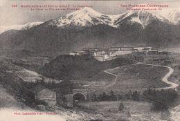 G , Cp , 66 , MONT-LOUIS , La Citadelle , Au Fond La Chaîne Des Pyrénées - Sonstige Gemeinden
