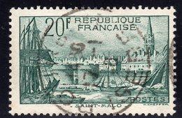 N° 394  Avec Oblitération Cachet à Date Centrale  TB - France