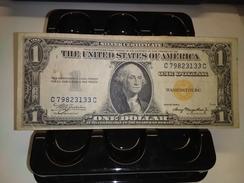 1935A $1 USA NORTH AFRICA YELLOW SEAL FR2306  RARE BANKNOTE LOC#1345 - Hawaii, Nordafrika (1942)