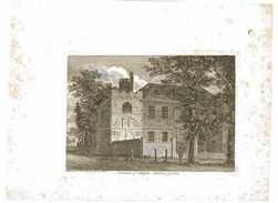 GRAVURE REMAINS OF ALDGATE BETHNAL GREEN  CHATEAU ANGLETERRE - Prints & Engravings