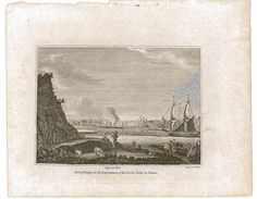 GRAVURE PORT DE DIEPPE - Prints & Engravings