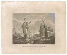 GRAVURE NATIVES OF CARIA A PROVINCE OF ANATOLIA IN TURKEY IN ASIA - Prints & Engravings