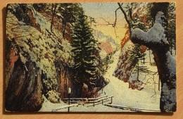 Adlitzgraben B. D. Bollerwand - Colorisée - Paysage Sous La Neige - Basse Autriche - (n°7185) - Altri