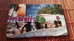 Prepaidcard Magic Used 2 Scans Rare - Non Classés