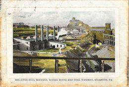 Bellevue Coal Breaker, Boiler House An Coal Washery, Scranton PA - Etats-Unis