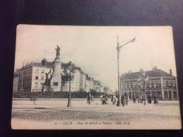 21 - LILLE Place St Michel Et Pasteur - 1914 Tampon CANNSTATT - Lille