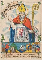 D27764 CARTE MAXIMUM CARD 1951 FRANCE - SAINT NICHOLAS SINTERKLAAS CP ORIGINAL