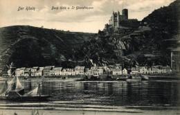 ALLEMAGNE - DER RHEIN - BURG KATZ U ST GOARSHAUSEN - Allemagne