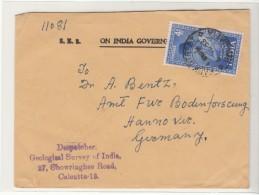 India / Calcutta Postmarks / Geology - Inde
