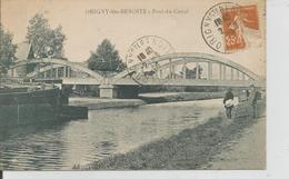 ORIGNY SAINTE BENOITE   Pont Du Canal ,peniche - Other Municipalities