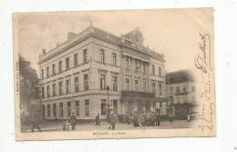 G-I-E , Cp , 59 , ROUBAIX , La Mairie , Animée , Dos Simple , Voyagée 1903 - Roubaix