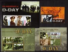 Guyana 2004 The 60th Anniversary Of D-Day Landings.Normandy.Full Blocks.( I - VIII ).MNH - 2 Scans - Guyane (1966-...)