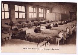 CPA POST CARD - LEGE 44 Loire Atlantique - Le Séminaire - Le Dortoir - Edit. Lollier Legé - Legé