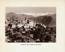 1948 - Héliogravure - Le Broc (Alpes-Maritimes) - Vue Générale - FRANCO DE PORT - Old Paper
