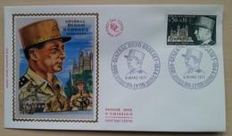 FDC 1971 - YT N°1668 - GENERAL DIEGO BROSSET - LYON - 1970-1979