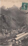 G , Cp , 73 , MODANE , La Gare , Le Fort Du Replaton , L'Aiguille Doran (3.049 M.) Et Le Rateau (3.126 M.) - Modane