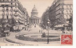 G , Cp , 75 , PARIS , La Rue Soufflot Et Le Panthéon - Pantheon