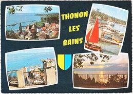74. Gf. THONON-LES-BAINS. 4 Vues. M.4 - Thonon-les-Bains
