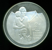 Cyprus / Greece, 1 Pound 1976, Silver Proof Coin !!! - Chypre