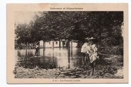 DAHOMEY ET DEPENDANCES - UNE PROPRIETE INONDEE - Dahomey