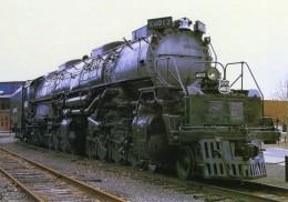 Union Pacific No 4012  ´Big Boy´ At Steamtown Museum, Scranton, USA   -  CPM - Trains