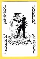 Joker  : Inscriptions 4 X Joker En Noir - Verso Kriek Belle-vue (bière, Beer, Brasserie) - Cartes à Jouer Classiques