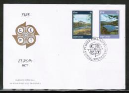 CEPT 1977 IE MI 361-62 IRELAND FDC - Europa-CEPT