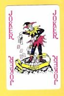 Joker  : Inscriptions 4 X Joker En Rouge - Verso Kriek Belle-vue (bière, Beer, Brasserie) - Speelkaarten