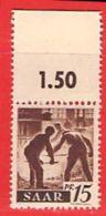 MiNr.212 OR Xx Deutschland Saarland (1945-49) - 1947-56 Protectorate