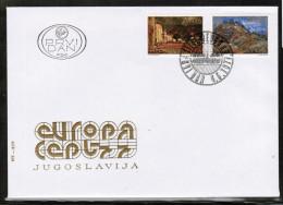 CEPT 1977 YU MI 1684-85 YUGOSLAVIA FDC - Europa-CEPT