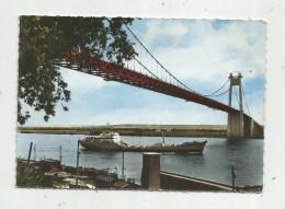 G-I-E , Cp, Le DAHRA , Oil Products Tanker , Pétrolier , Sous Le Pont De TANCARVILLE , Ed : La Cigogne , N° 76.684.18 - Pétroliers